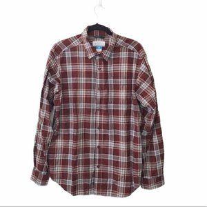 Columbia Hardy Ridge Plaid Long Sleeve Shirt